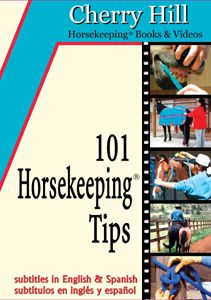 101 Horsekeeping Tips DVD by Cherry Hill